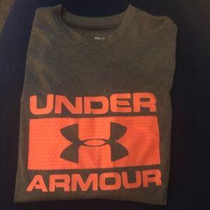 Boy youth long sleeve under armour